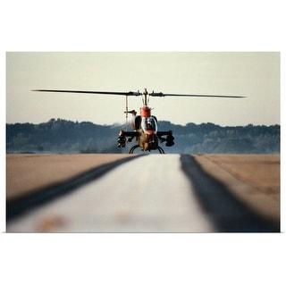"""Super Cobra Helicopter"" Poster Print"