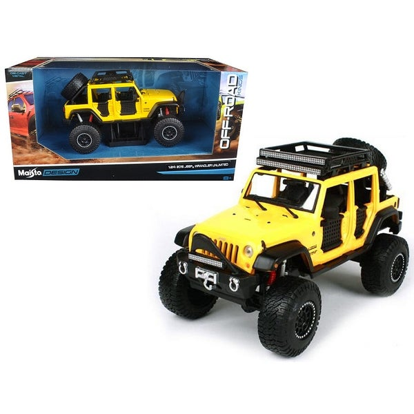 Shop 2015 Jeep Wrangler Unlimited Yellow Off Road Kings 1