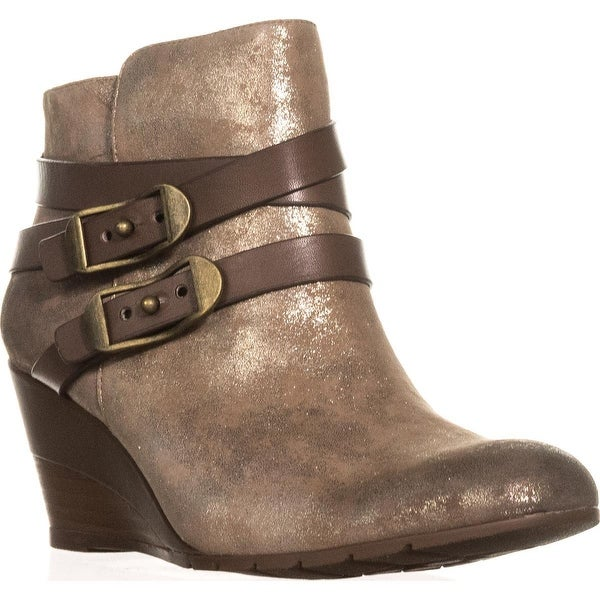 Söfft Oakes Wedge Booties, Anthracite - 9.5 us / 41 eu