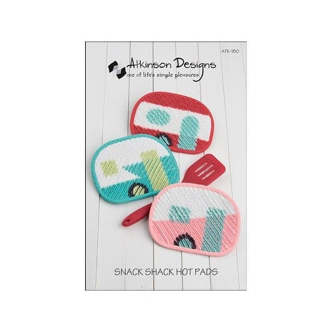 Atkinson Designs Snack Shack Hot Pads Ptrn