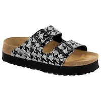 Birkenstock Womens Papillio Arizona 2-Strap Open Toe Casual Slide Sandals