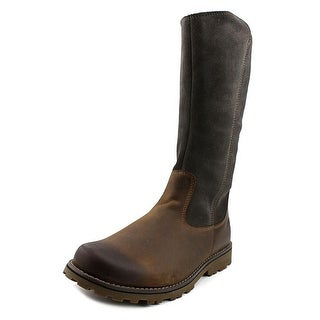 Timberland Earthkeepers Skyhvn Tall Bt Youth Round Toe Leather Brown Boot