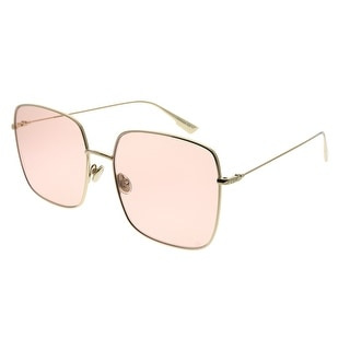 Link to Dior  CD Stellaire1 J5G JW Womens Gold Frame Pink Lens Sunglasses Similar Items in Women's Sunglasses