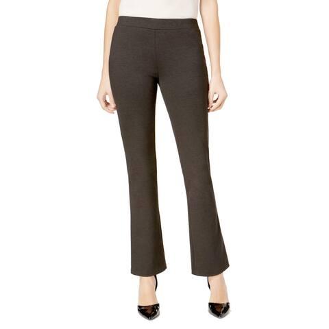Nine West Gray Women's Size 4X30 Wide Leg Knit Pants Stretch