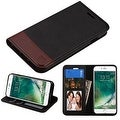 Insten Leather Cover Case with Stand/ Wallet Flap Pouch/ Photo Display For Apple iPhone 7 - Thumbnail 1