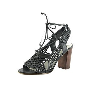 1.State Womens Shannen Dress Sandals Open Toe Block Heel