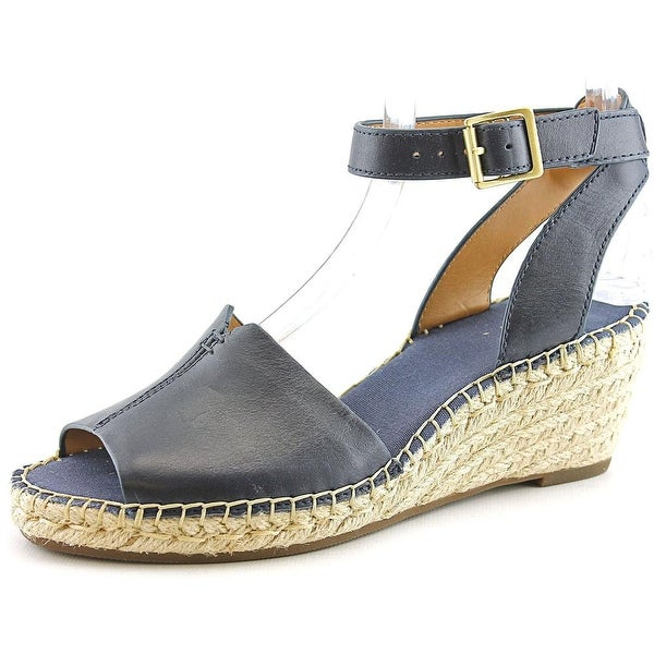 71bfc20a62df Clarks Artisan Petrina Selma Women Open Toe Leather Wedge Sandal. Click to  Zoom