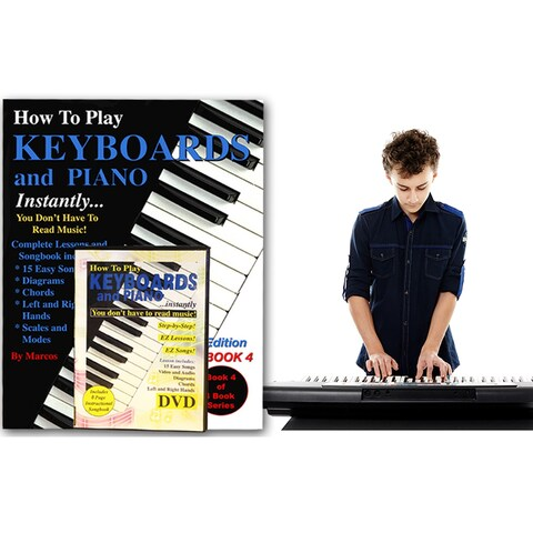 How To Play Keyboard /Piano Instantly- Includes Book And DVD