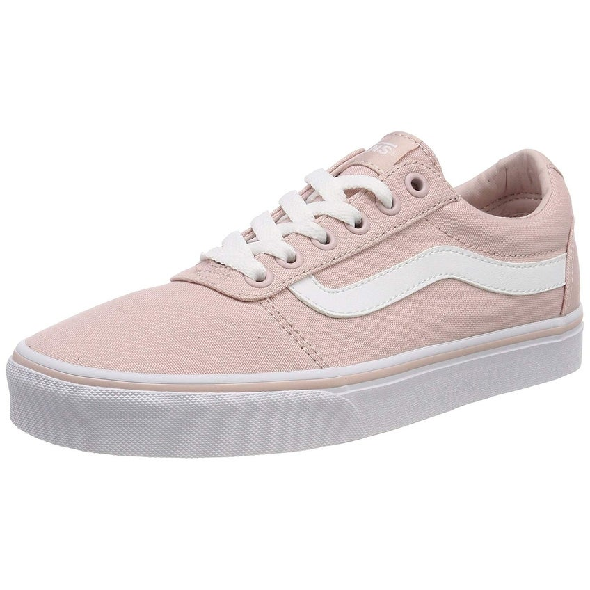 S Ward Canvas Low-Top Sneakers, Pink