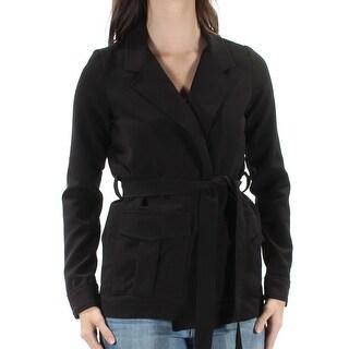 SHIFT $59 Womens New 1464 Black Tie Suit Casual Jacket XS Juniors B+B