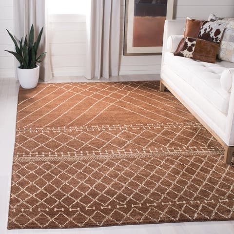 Safavieh Hand-knotted Loft Jeanny Modern Tribal Wool Rug