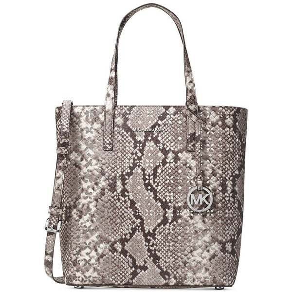 873a59f797 Shop MICHAEL Michael Kors Hayley Medium North South Top Zip Tote - Free  Shipping Today - Overstock.com - 23074750
