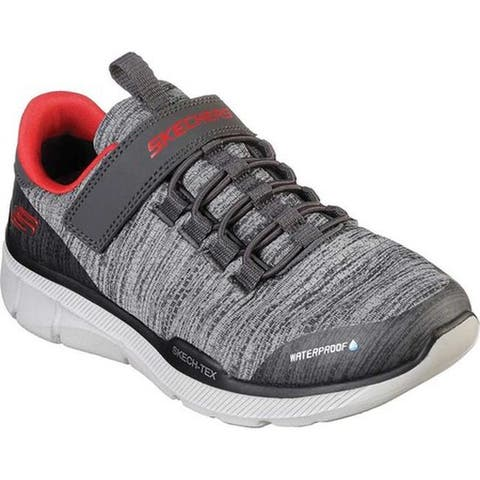 531753f838aa Skechers Boys  Relaxed Fit Equalizer 3.0 Aquablast Trainer Charcoal Gray