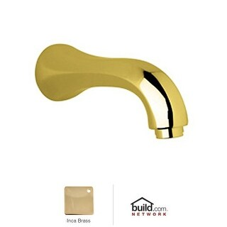 "Rohl A1803 Country Bath 7"" Non Diverter Tub Spout"