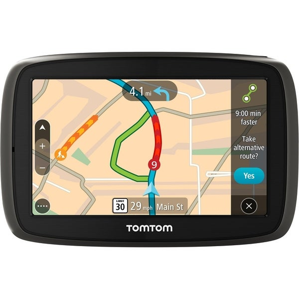 "TomTom GO 50 S 5"" Portable Vehicle GPS with Lifetime Maps & Traffic - Refurbished"