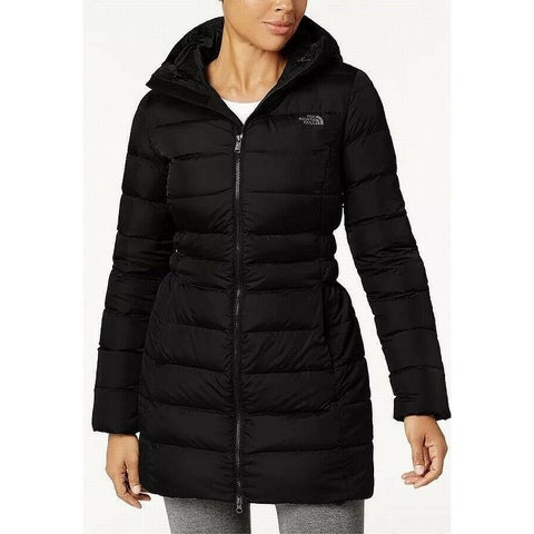 The North Face Black Women's Size Medium M Puffer Jacket Full Zip