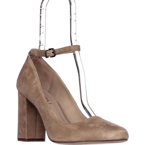Via Spiga Selita Ankle Strap Pumps, Light Camel