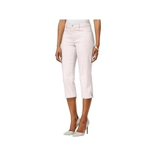 NYDJ Womens Petites Ariel Cropped Jeans Slimming Fit Colored - 10P