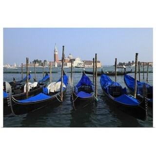 """""""Saint Mark's Canal, Venice, Veneto, Italy"""" Poster Print"""