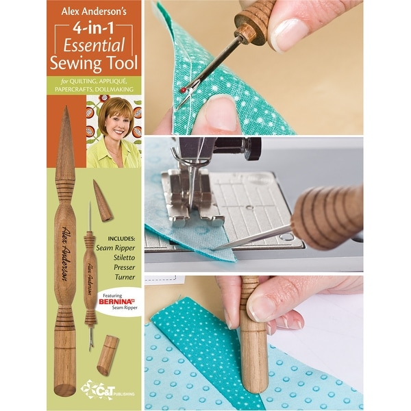 Alex Anderson's 4-In-1 Essential Sewing Tool-