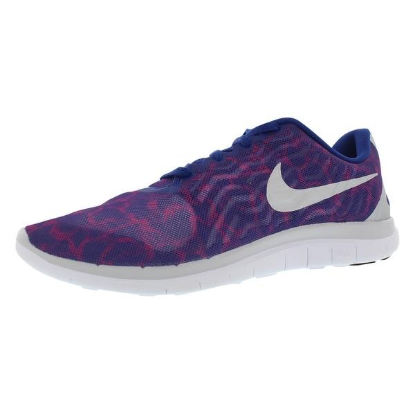 5b36e1f25edf Shop Nike Free 4.0 V5 Print Running Women s Shoes - 9.5 b(m) us ...