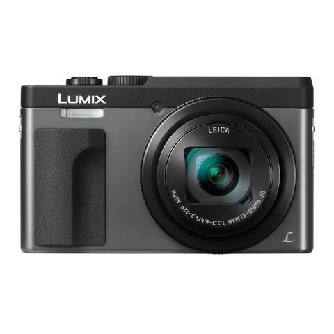 Panasonic LUMIX DC-ZS70S 20.3 Megapixel 4K Digital Camera (Silver)