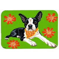 Cosmo Cutie Boston Terrier Mouse Pad, Hot Pad or Trivet