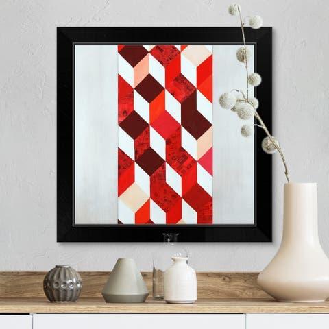 """Every Angle"" Black Framed Print"