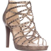 B35 Brooke2 Platform Dress Sandals, Champagne