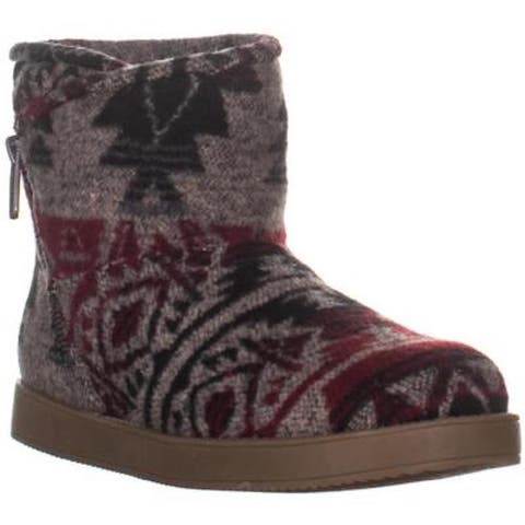 Indigo Rd. Womens Ashley Fabric Closed Toe Mid-Calf Cold Weather Boots