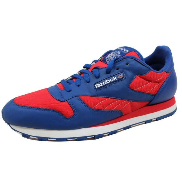 Reebok Men's CL Mesh Royal/White-Red 1-107211 Size 14