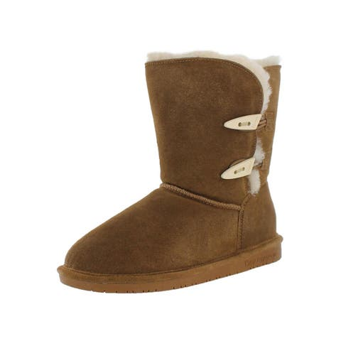 Bearpaw Womens Abigail Winter Boots Mid-Calf Snow