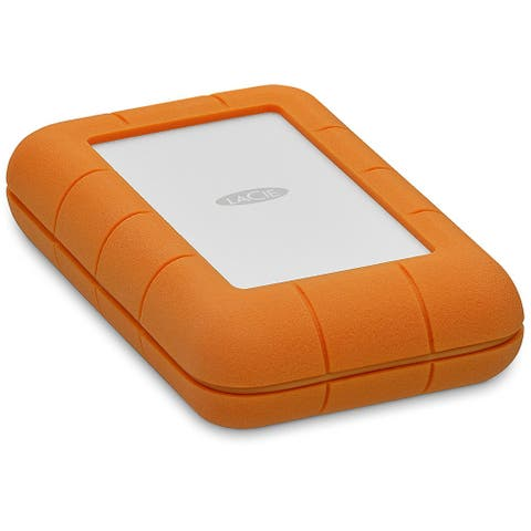 Lacie Rugged USB-C 5TB Portable External Hard Drive