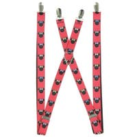 Minnie Mouse Silhouette Suspenders
