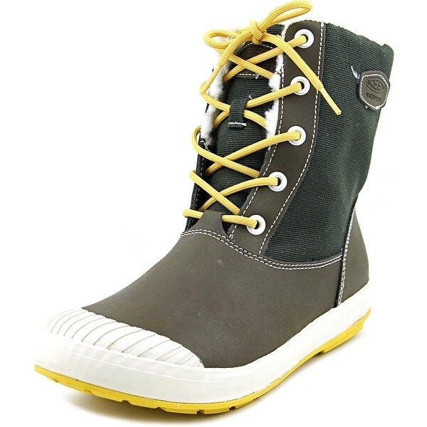 Keen Elsa Boot WP Round Toe Canvas Snow Boot