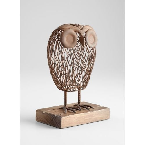 "Cyan Design 5063 13"" Wisely Owl Sculpture"