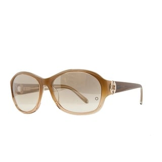 Mont Blanc MB 357/S 47F Blonde Oval Sunglasses - 59-16-135