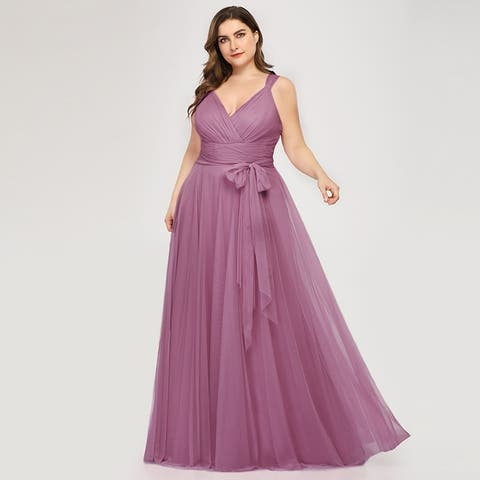 Buy Purple Women\'s Plus-Size Dresses Online at Overstock | Our Best ...