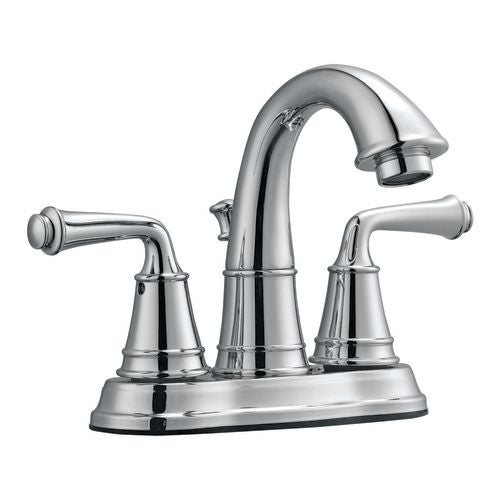 Design House 524512 Double Handle Bathroom Faucet With Metal Lever Handles  From The Eden Collection