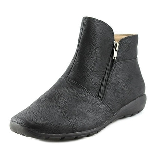 Easy Spirit Antaria   Round Toe Synthetic  Ankle Boot