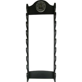 Master Cutlery WS-8WX 39 in. 8 Tier Wall Mount Sword Stand