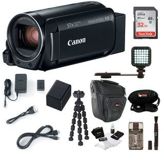 Canon Vixia Hf R800 Camcorder Black With 32gb Supreme Bundle