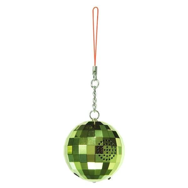 Ivation Christmas Wireless Bluetooth Ornament Speaker (Green)