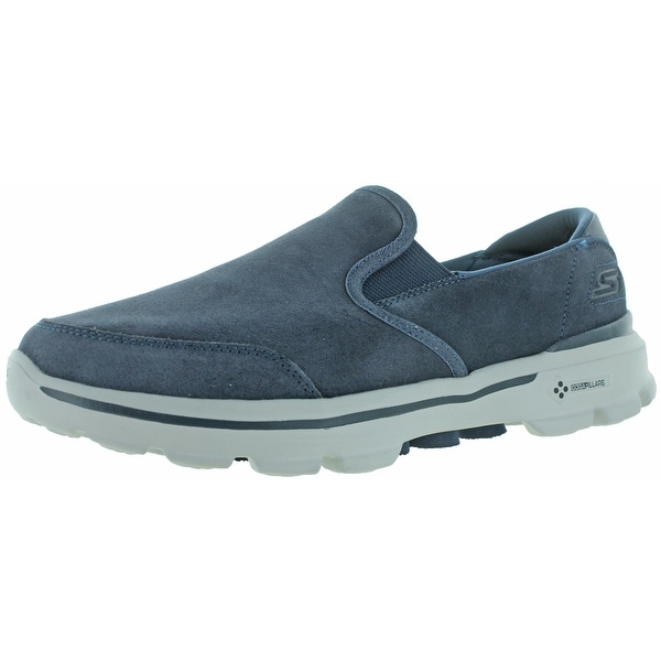 Skechers Go Walk 3 Men's Leather Slip-On Casuals Shoes