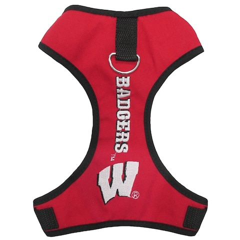 Collegiate Wisconsin Pet Harness