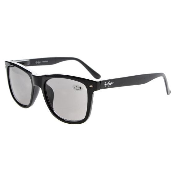 Eyekepper Sun Readers Large Lenses Spring-Hinges Reading Sunglasses +2.75
