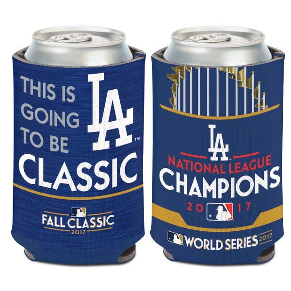 Los Angeles Dodgers WinCraft 2017 National League Champions 12oz. Can Cooler. Opens flyout.