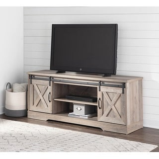 Link to The Gray Barn Ansley Media Console with Sliding Barn Doors Similar Items in TV Consoles