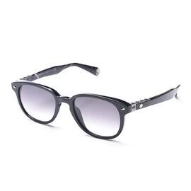 John Galliano Women's Round Frame Sunglasses Black - Small