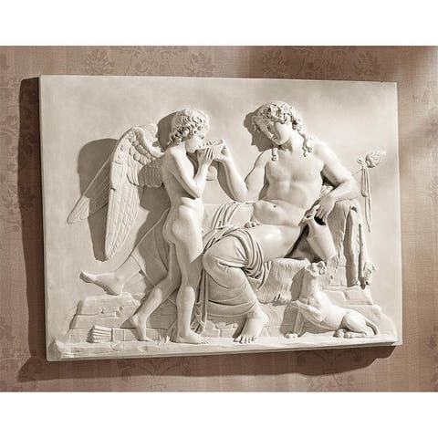 Design Toscano Eros and Dionysus High Relief Frieze